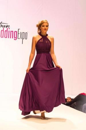 Mesh Straps Infinity Dress