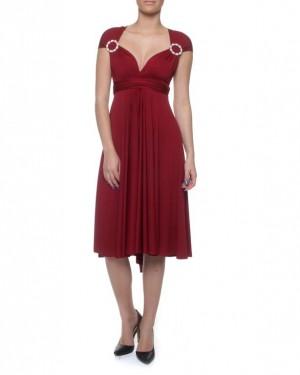 Summer, Knee length Infinity Dress