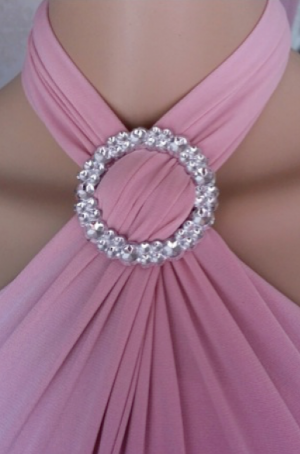 Silver Brooch for Infinity Dresses