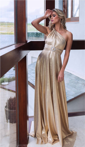 Metallic Infinity Dress