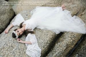 Bell Sleeve Wedding Dress