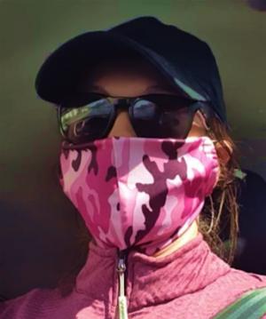 Camouflage Pink Masks