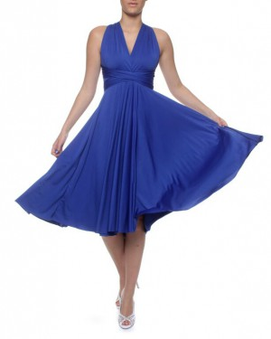 Royal Blue Infinity Dress SA