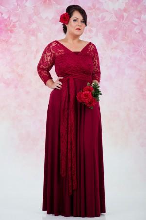 Plus Size Vintage Wrap Dress