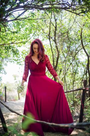 Amber Rose Wrap Dress