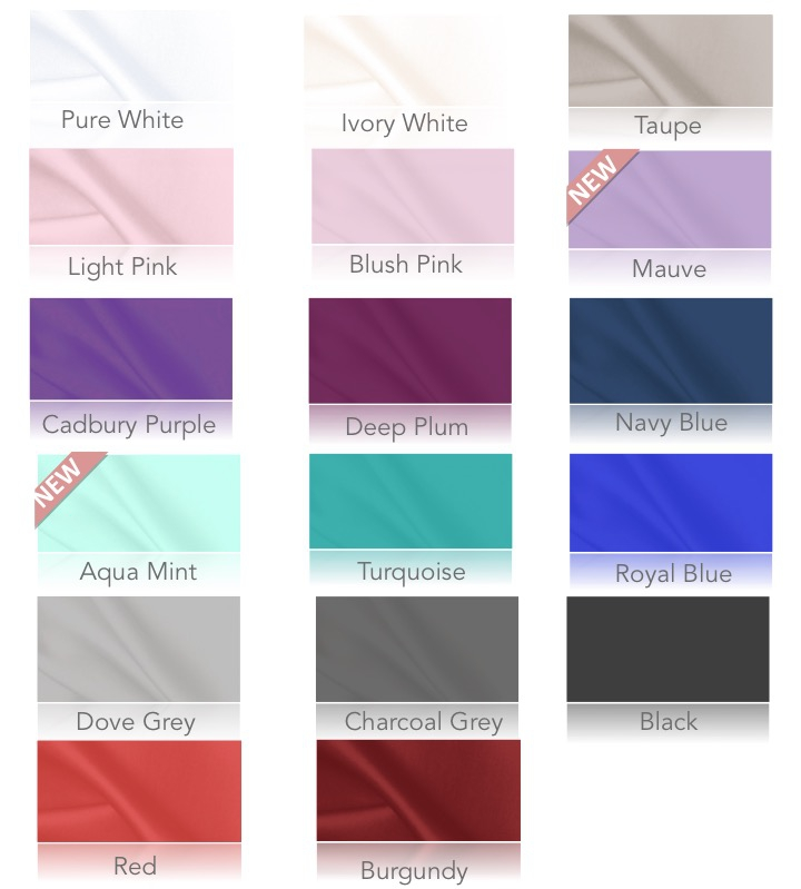 Lace colour chart